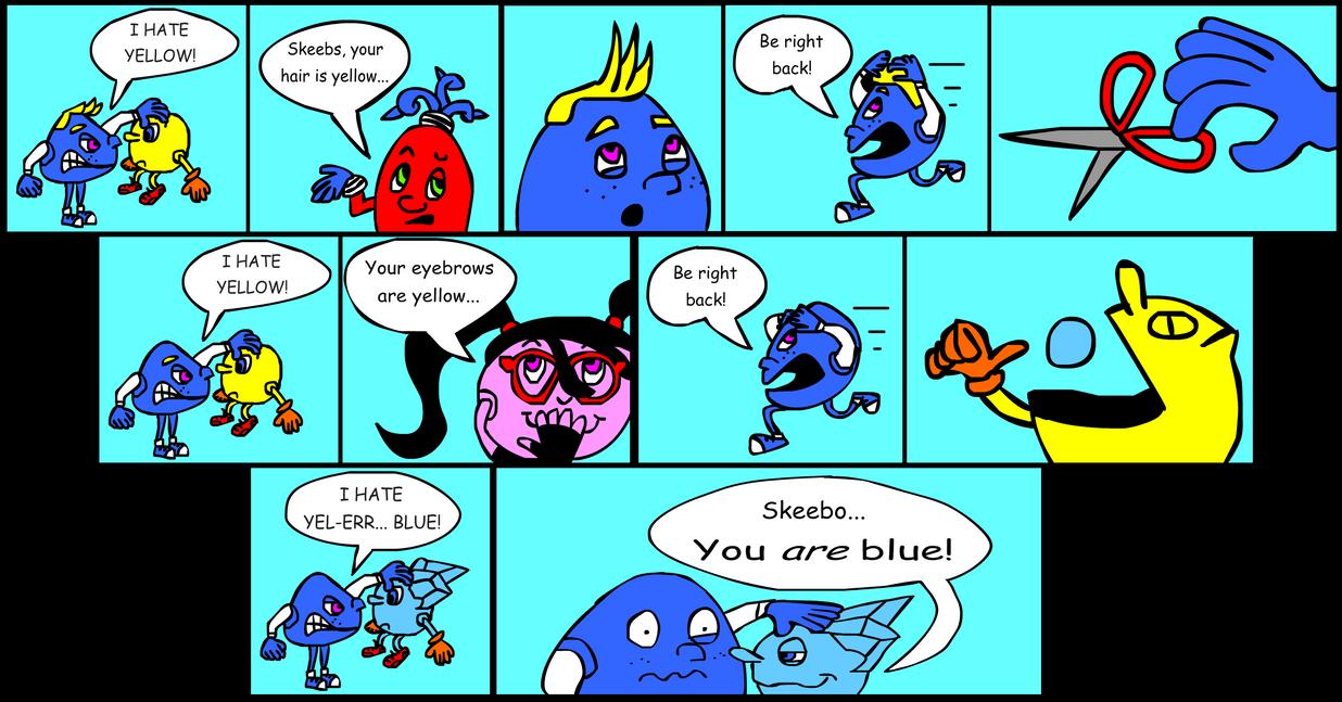 Skeebo Comic By AshumBesher On DeviantArt