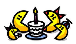 Pac-Man's birthday!