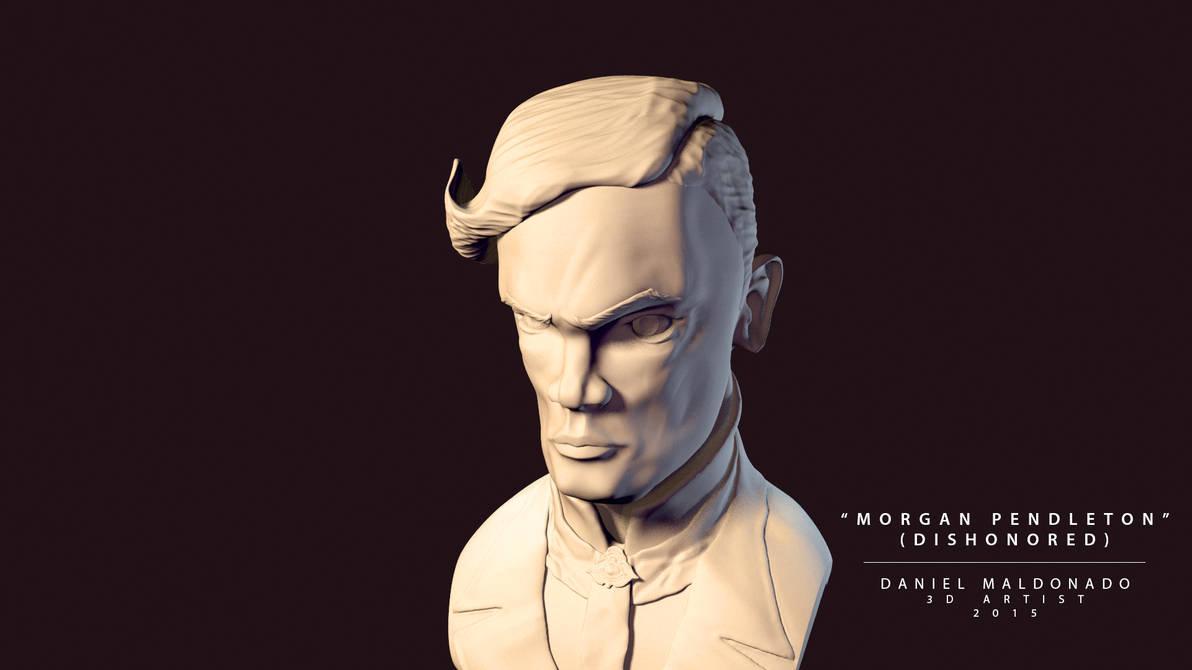 Morgan Pendleton Final Render (Maya 2014) by Dani-TheWhisper