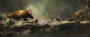 Red Panda by Ksottam