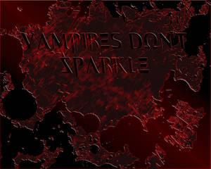 Vampires don't sparkle, 1