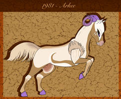 :: Equus Ballators:: 1981 - Arkee SOLD
