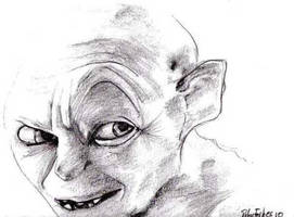 Gollum by rforb1