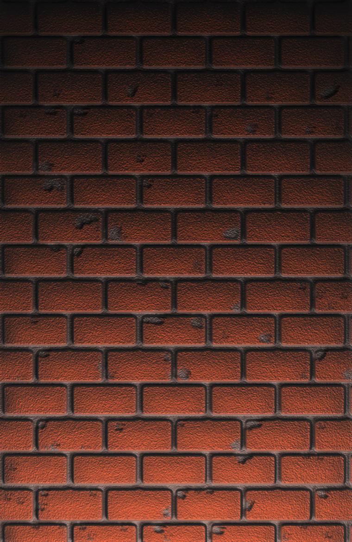 Digital Brick wall Stock