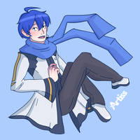 Kaito by LauraArtiss