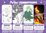 BUDGET FRIENDLY COMMISSIONS [OPEN] by LauraArtiss