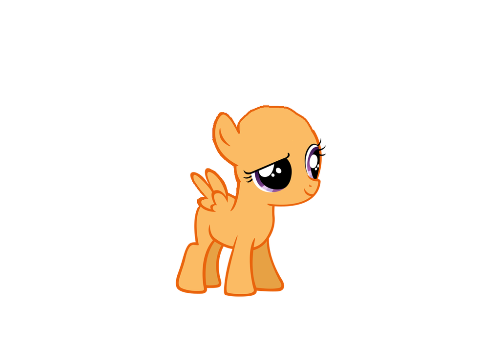 Mlp base pegasus filly