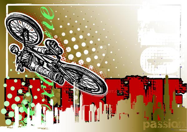 Bike Poster by ranker666