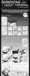 Screentone Tutorial Prt 1 by yuurei-onnanoko