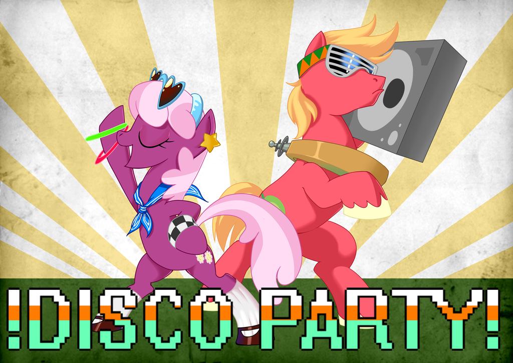Disco party by GashibokA