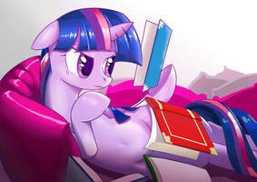 Book and Sofa by GashibokA