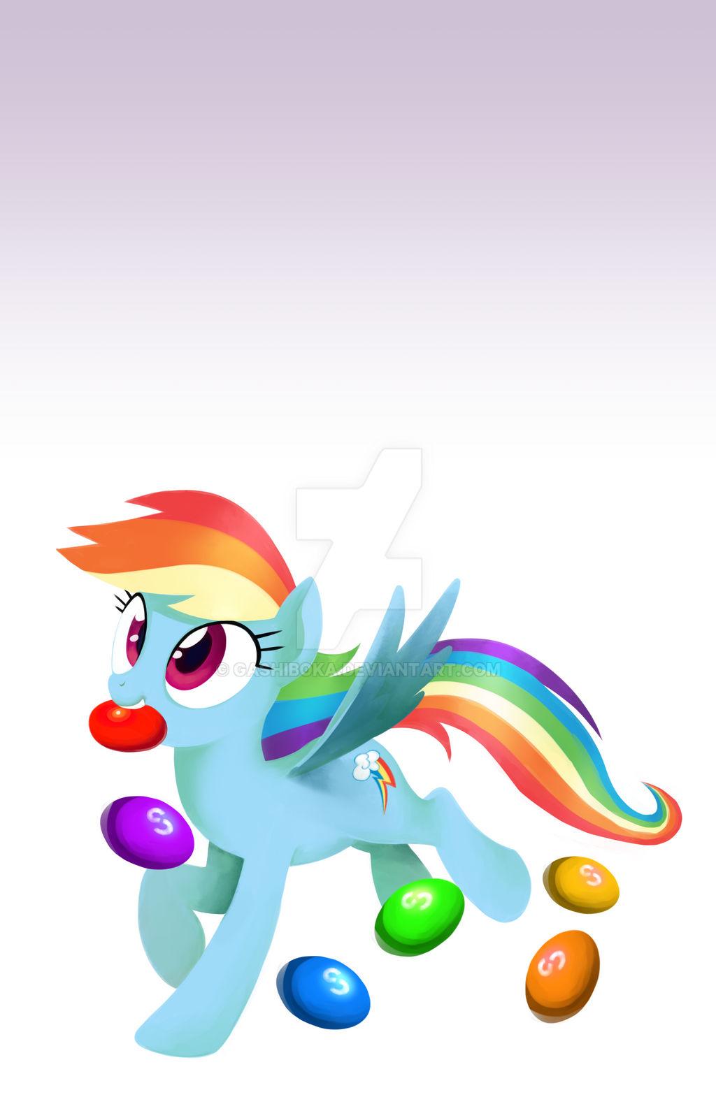 Mobile LockScreen - Rainbow Skittle