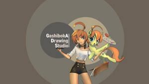 <b>Youtube Channel Art : GADS</b><br><i>GashibokA</i>