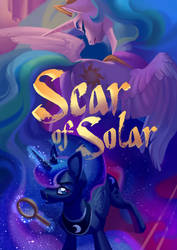 Scar of Solar - new book cover