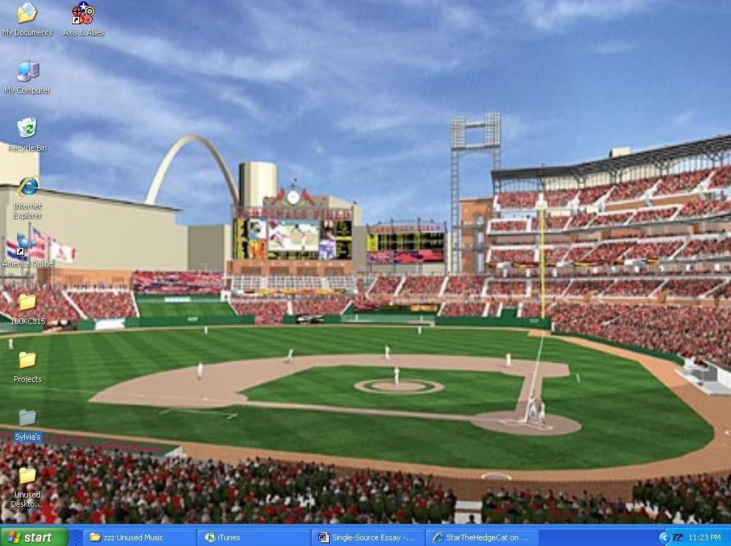 busch stadium wallpaper  Busch Stadium is My Desktop by StarTheHedgeCat on DeviantArt