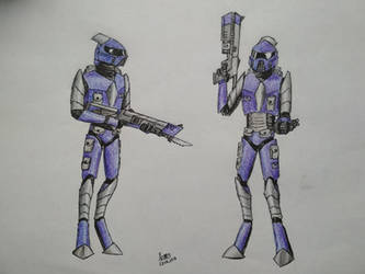 Reborned Empire warriors redesign by XenosX-219TY