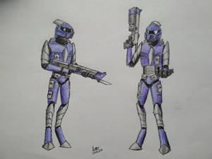 Reborned Empire warriors redesign