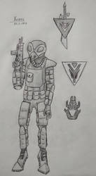 Conkrix soldier of Unification War times