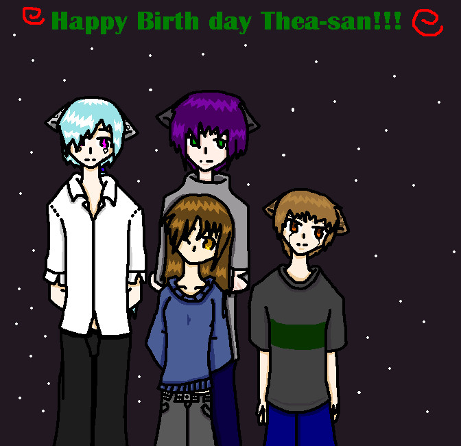 Happy Birthday Thea-san by hamnzo
