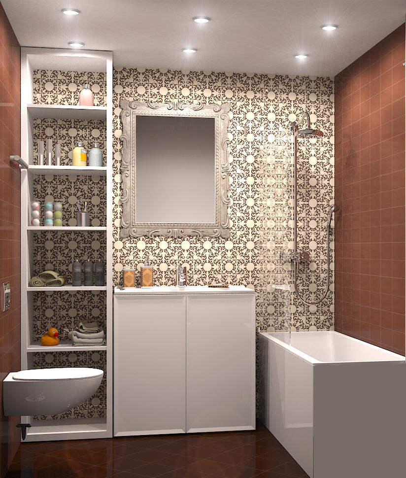 Small bathroom by selebriana on deviantart for J b bathrooms wimborne