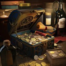 Treasure chest by selebriana