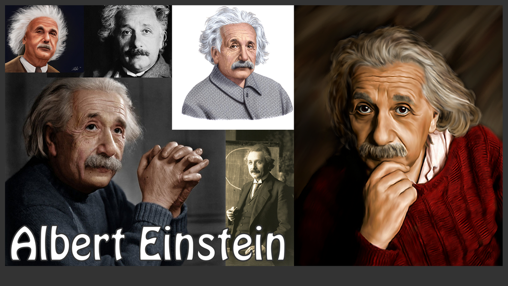 Albert Einstein Wallpaper 2 By TerramineLight