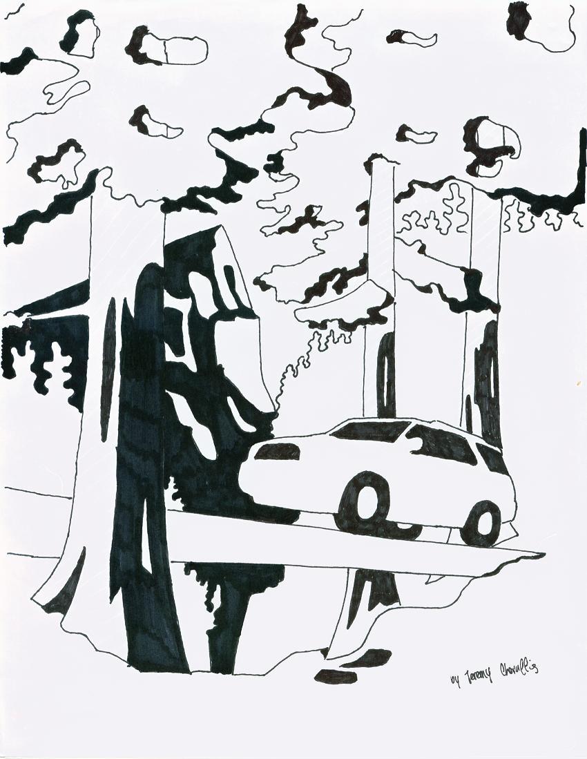 Sharpie Forest 2
