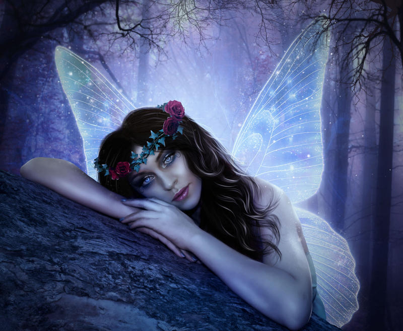 Fairy by violetgraphica