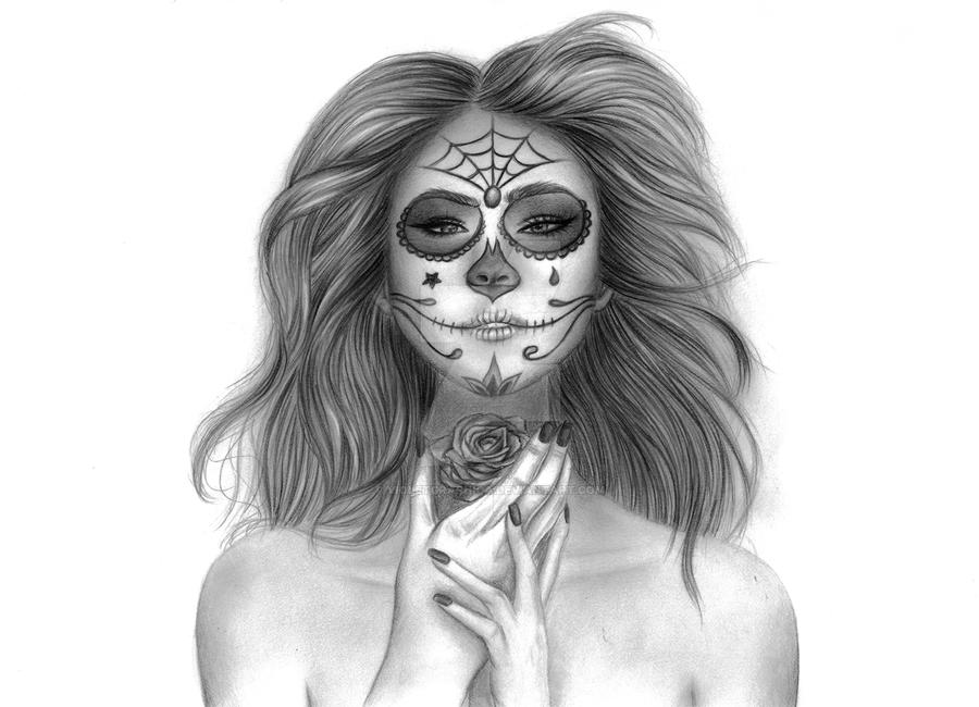Day Of The Dead by violetgraphica