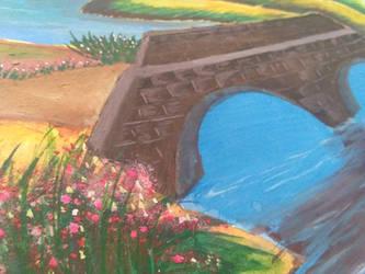 Village Bridge. by Paulami9564