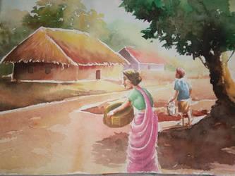 Village by Paulami9564