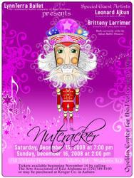 Nutcracker Poster Design by claycox