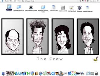 The Seinfeld Crew Desktop by claycox