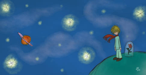 Le Petit Prince by jarvworld