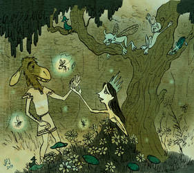 A Midsummer Night's Dream by jarvworld