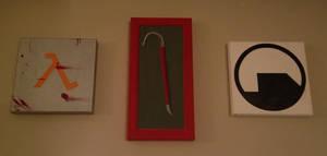 Half-life Triptych
