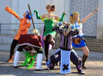 Fairy Tail - We are...THE GINYU FORCE!