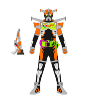Kamen Rider Fly Combat Gamer LV 2 by JoinedZero