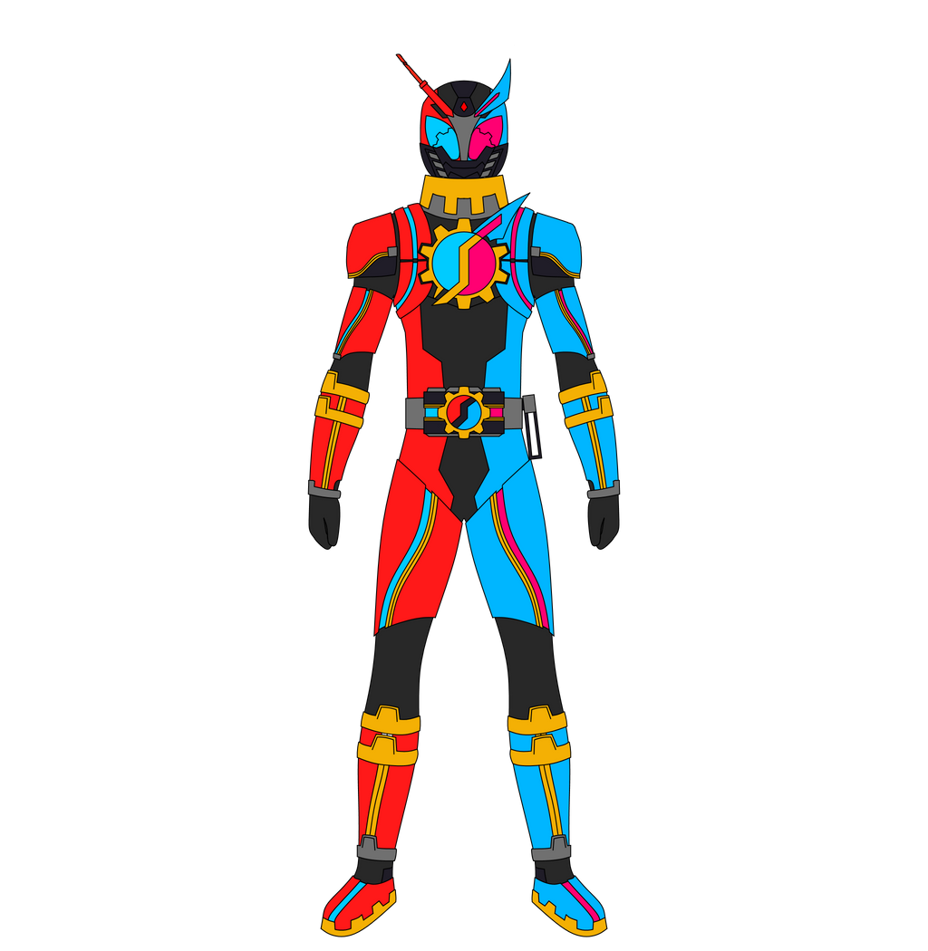 Kamen Rider Build Fan Design ~ My Version