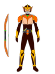 Armored Rider Arch Tangerine Arms