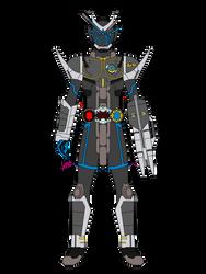 Commission - Kamen Rider Raja G4 Armor by JoinedZero