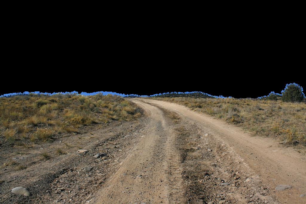 Dirt road stock