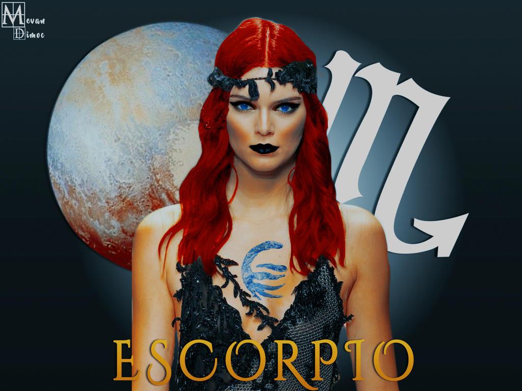 Zodiaco Escorpio by mevandimoc