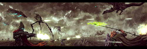 Sci-Fi vs. Fantasy by DanilLovesFood