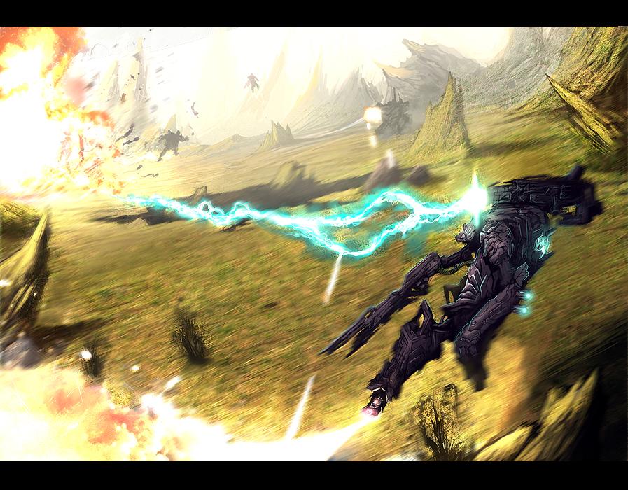 Mech Battle by DanilLovesFood