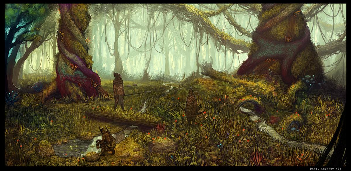 Antediluvian Woodlands