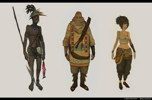 Character Design Vol 1 by DanilLovesFood