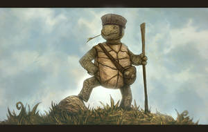 Adventure Turtle by DanilLovesFood