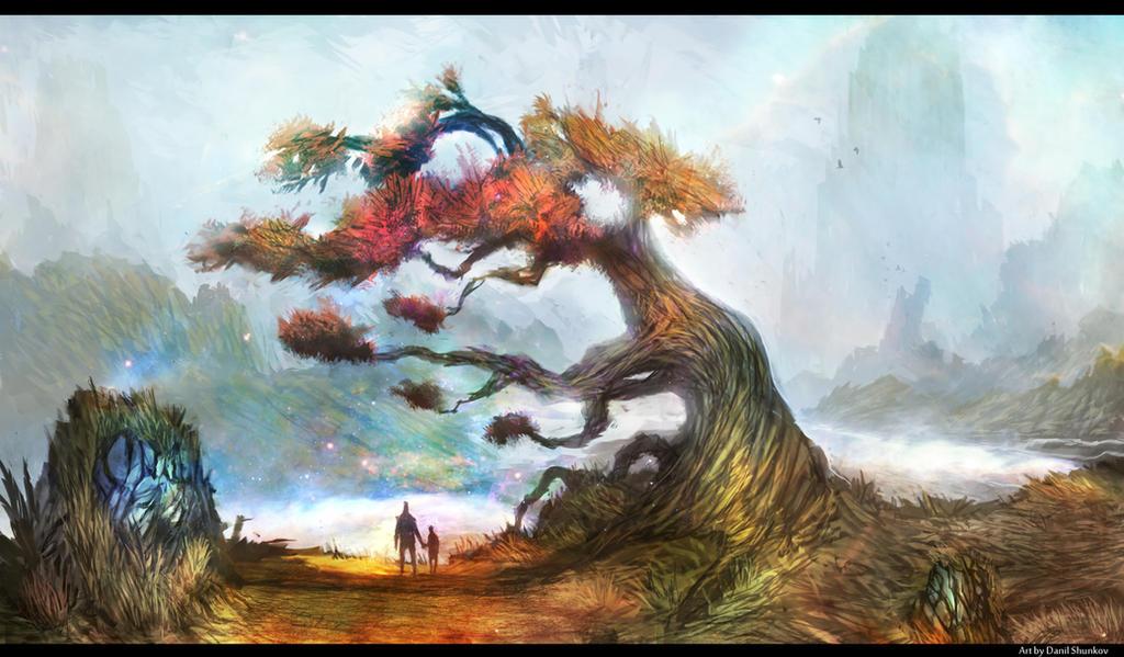 Tree of Wanderlust by DanilLovesFood