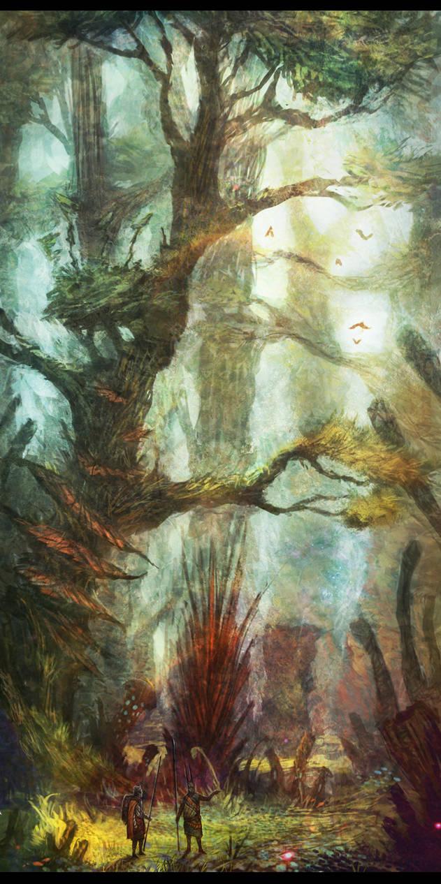Valirkhanian Woods
